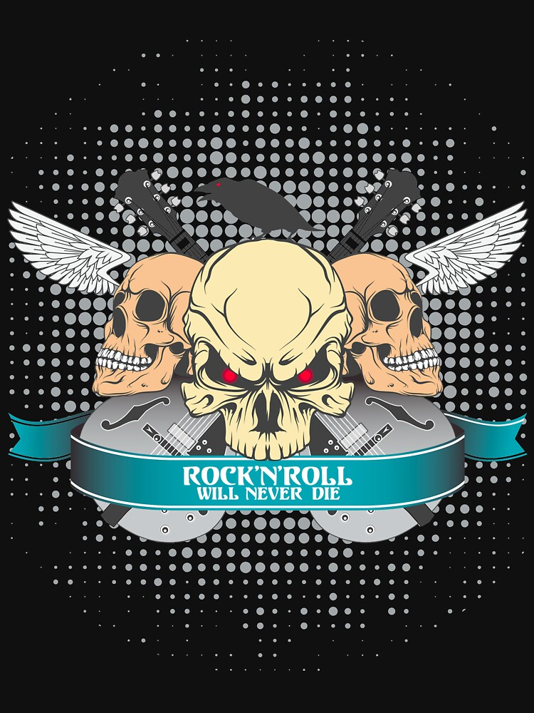 Rock'n'roll will never dies by designhp