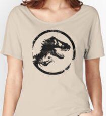 Jurassic park/world logo Women's Relaxed Fit T-Shirt