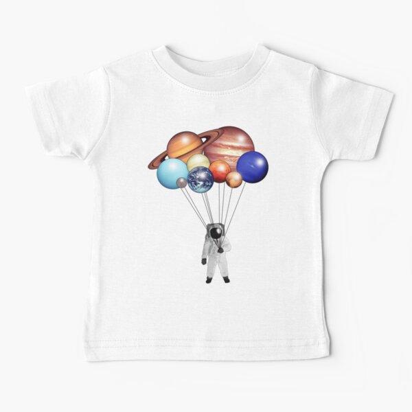 Astronaut Balloons Baby T-Shirt