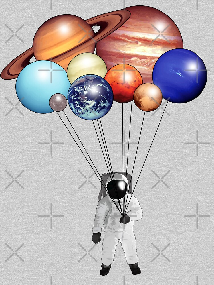 Astronaut Balloons by ChrisOfFenric