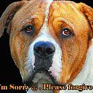 Boxer Dog Card by JuliaKHarwood