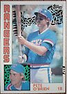 004 - Pete O'Brien by Foob's Baseball Cards