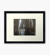 Mirror Flashes Framed Print