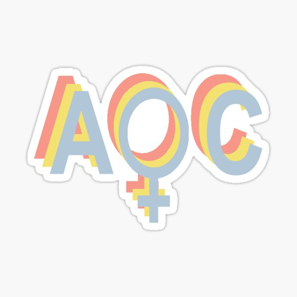 AOC Sticker