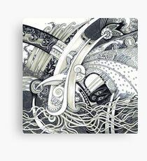 Muddle Canvas Print