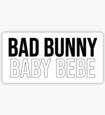 Bad Bunny Baby Bebe Sticker