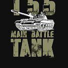 T55 MAIN BATTLE TANK by PANZER212