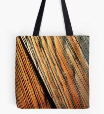 """""""Wood Grain"""" Tote Bag"""