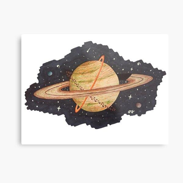 Saturn1 Metal Print