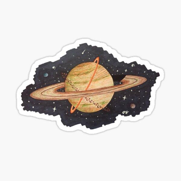 Saturn1 Sticker