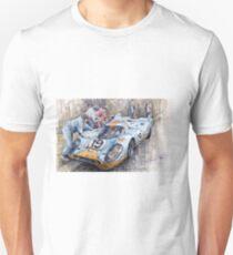 Porsche 917 K GULF Le Mans 1971 Mueller Attwood Unisex T-Shirt