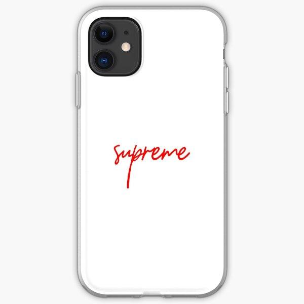 Supreme Handwritten Logo iPhone Soft Case