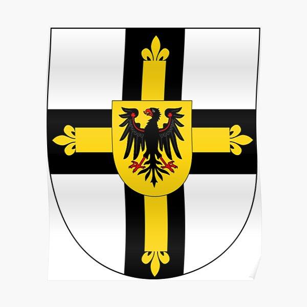 Teutonic Order Shield Poster