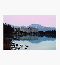 Reflections- Chateau Lake Louise Photographic Print