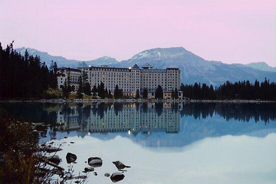 Reflections- Chateau Lake Louise by StonePics