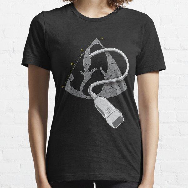 Echocardiography Technician Gift 4-Chamber Views  Essential T-Shirt