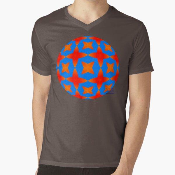 Stars and Whatknots V-Neck T-Shirt