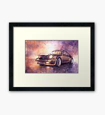 Porsche 911 Turbo 1979 Framed Print