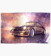 Póster Porsche 911 Turbo 1979