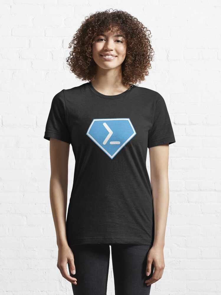 Alternate view of Powershell Super Power Diamond - Balsamic Balance Essential T-Shirt