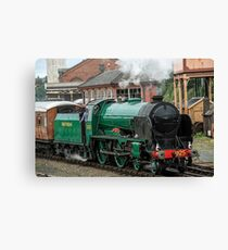 Cheltenham, Steam Engine 925 Canvas Print