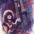 Jimmy Page  by Yuriy Shevchuk