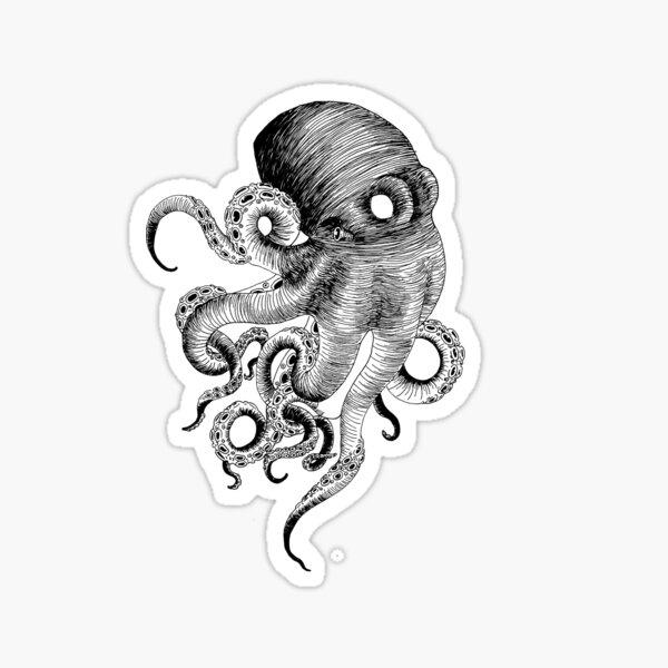 Octo Octo Octopus Sticker