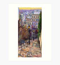 Paris Montmartre Art Print