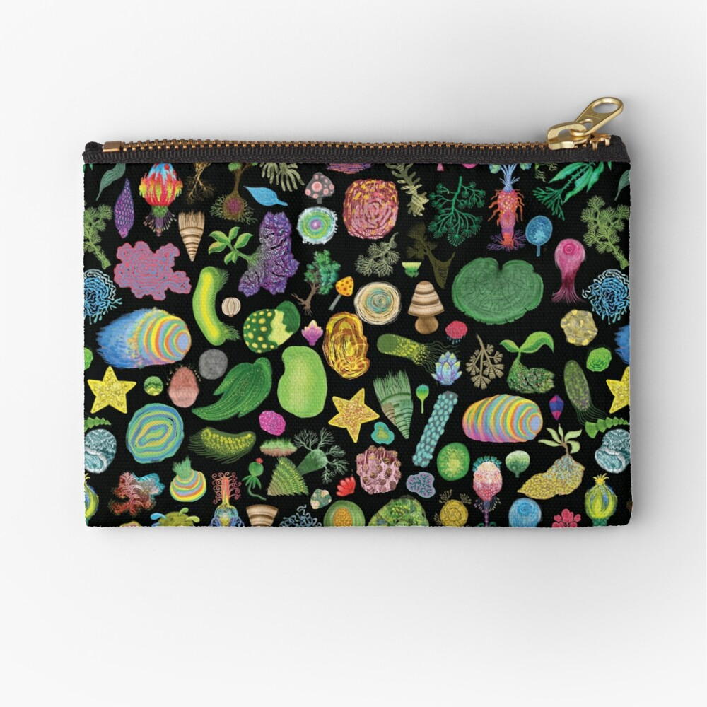 Tasty Slugs & Tasty Cacti: extra Variation Zipper Pouch