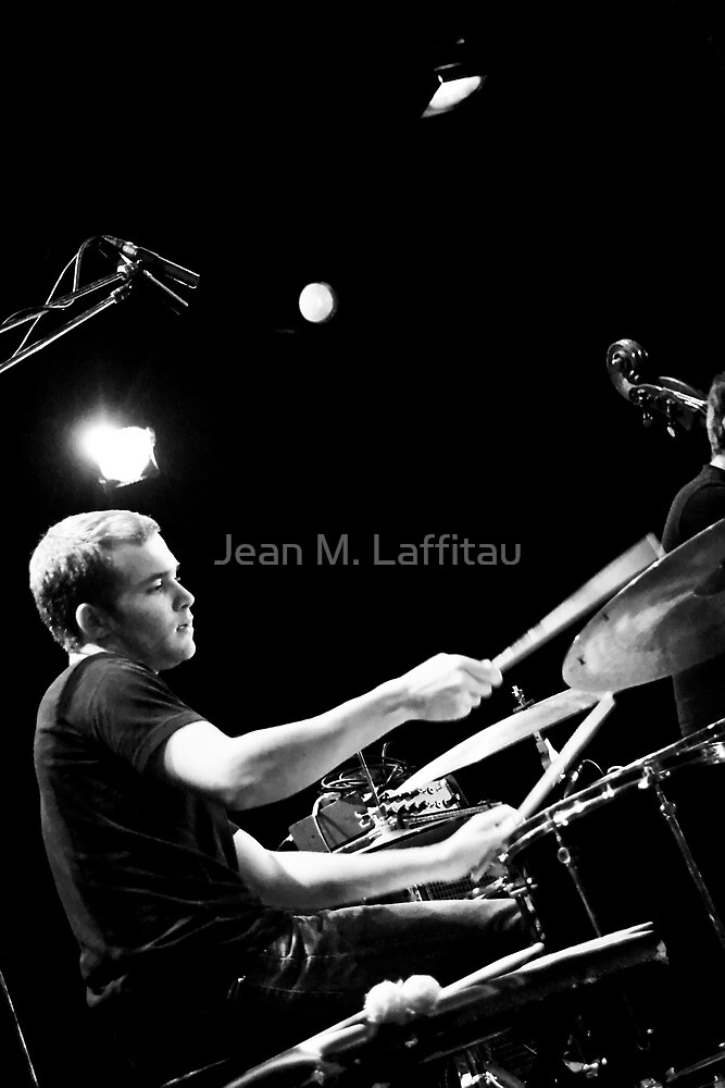 The drummer by Jean M. Laffitau