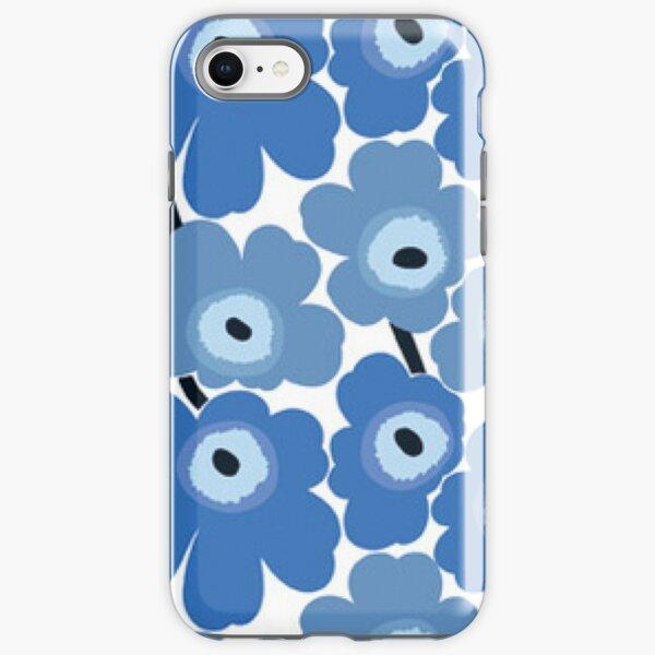 Marimekko Blue Floral Print iPhone Tough Case