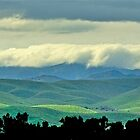 Cloudy Foothill Panorama by John Butler
