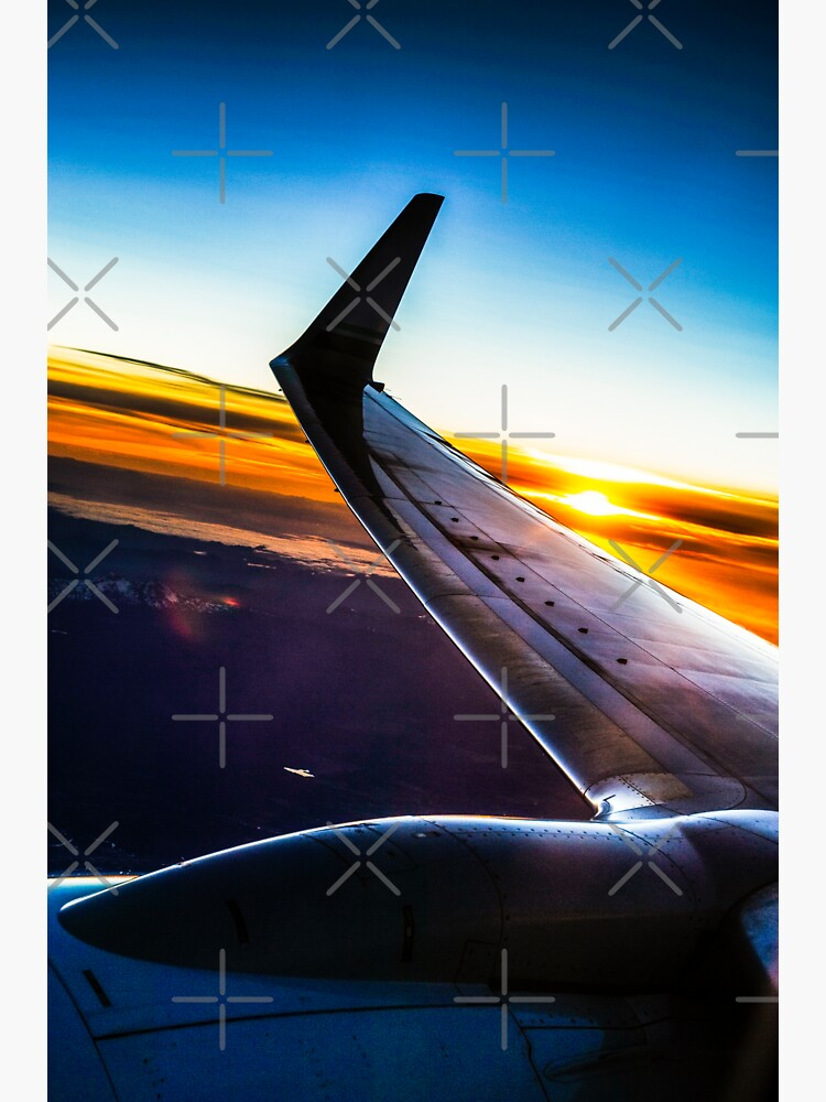 Sleek Jet Liner at Twilight by neptuneimages