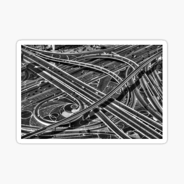 Fun Stickers Motorways