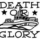 Death or Glory 45 RB-M B&W by AlwaysReadyCltv