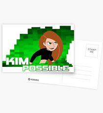 Kim Possible  Postcards