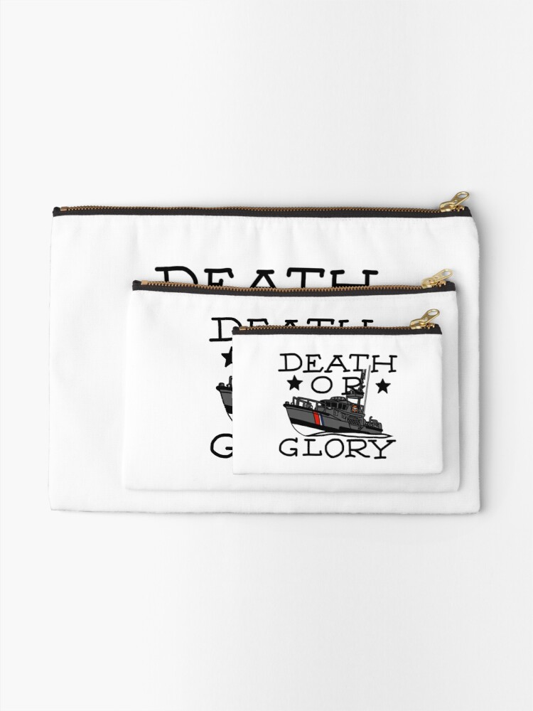 Alternate view of Death or Glory 47 MLB Zipper Pouch
