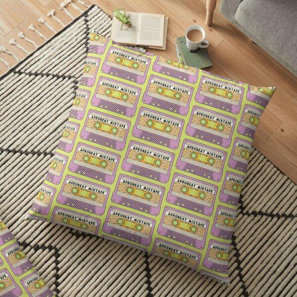 AFROBEAT MIXTAPE Floor Pillow