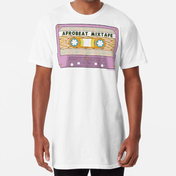 AFROBEAT MIXTAPE Long T-Shirt