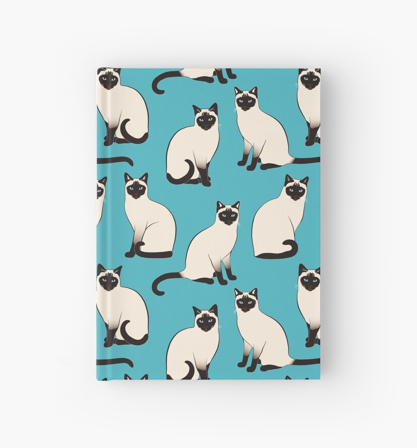 «Gatos siameses - patrón escaso» de nadyanadya