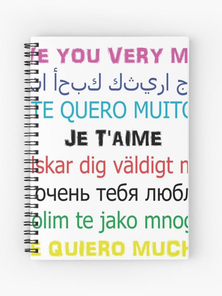 Frases Bonitas Para Mi Amor Cuaderno De Espiral