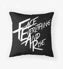 Papa Roach - Face Everything And Rise Throw Pillow