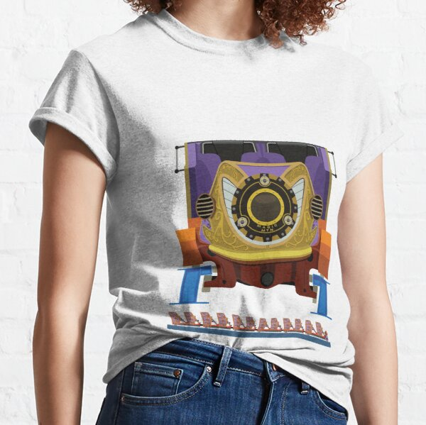 Twisted Colossus Coaster Car Design - Six Flags Magic Mountain Classic T-Shirt
