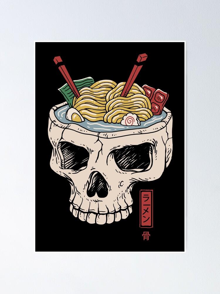 Alternate view of Ramen Brain Poster