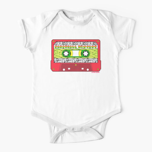 DANCEHALL MIXTAPE Short Sleeve Baby One-Piece