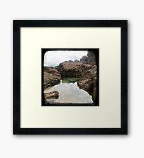 Rockpool - Through The Viewfinder (TTV) Framed Print
