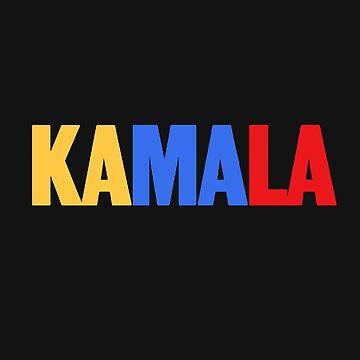 KAMALA Harris  by queendeebs