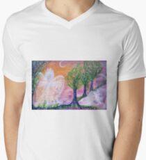 Garden of delight Men's V-Neck T-Shirt