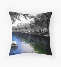 Amsterdam Colorsplash Throw Pillow