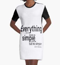 Vestido camiseta ALBERT EINSTEIN Pop Art